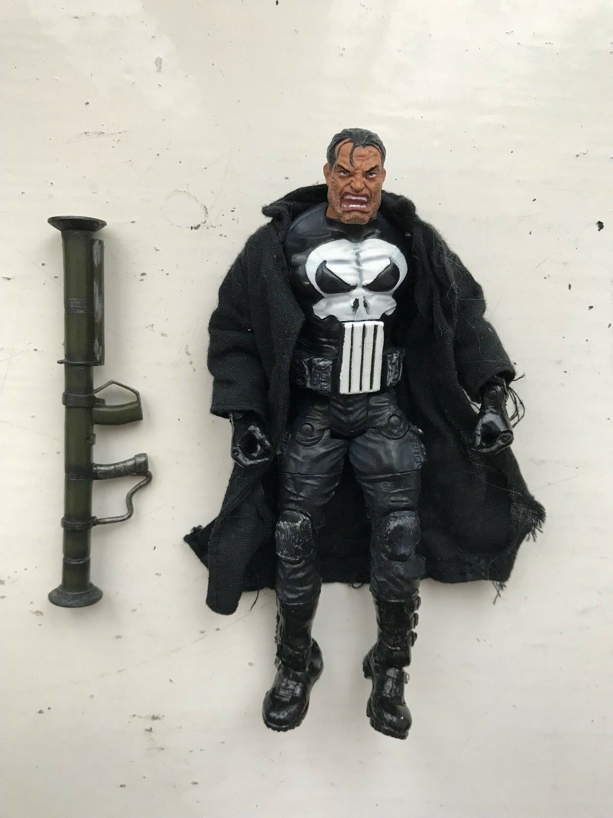 MARVEL URBAN LEGENDS BOX SET SERIES THE PUNISHER ACTION FIGURE 2004 CLASSICS