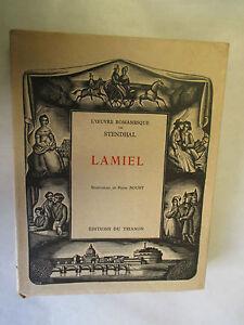Stendhal-034-Lamiel-034-illustrations-de-Pierre-Noury-TL-amp-Numerote-Trianon-1929