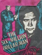 SIX MILLION DOLLAR MAN - Wax Pack - With Cards - Monty - 1975 - Holland