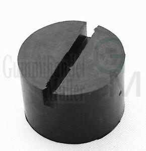 100x50mm-Nut-Gummiauflage-Gummiklotz-Gummiblock-Hebebuehne-Wagenheber-Gummi