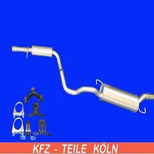 Audi-Tt-1-8-T-Muffler-Silencer-Muffler-Exhaust-System-Set