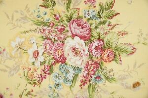 Quilt-Gate-Cottage-Shabby-Chic-Mary-Rose-Jessica-2130Y-11C-Yellow-BTY
