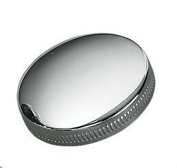 Drag Specialties Chrome Original Style Vented Cam Gas Cap for Harley & Customs