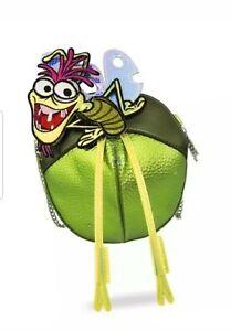 Disney Danielle Nicole Princess Tiana Frog Ray Crossbody Bag