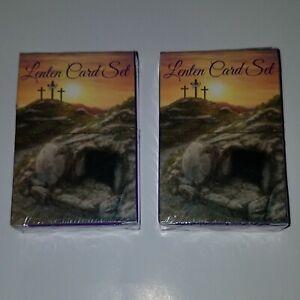 Download NEW 2 Lenten Card Sets FACTORY SEALED Lent Triduum Easter ...
