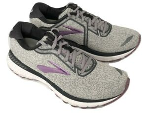 Running Shoes Grey White Valerian Size
