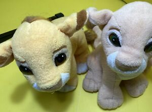 The-Lion-King-Simba-and-Nala-Kissing-Cubs-Plush-1993-Authentic-Disney-Magnetic