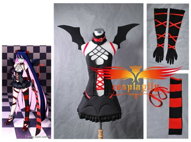 Panty & Stocking with Garterbelt Stocking Cosplay Costume B Custom Halloween