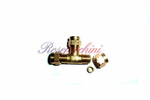Image is loading 12mm-Brass-T-Compression-Splitter-Join-Lpg-Gas-  sc 1 st  eBay & 12mm Brass T Compression Splitter Join Lpg Gas Fuel Pipe Fitting ...