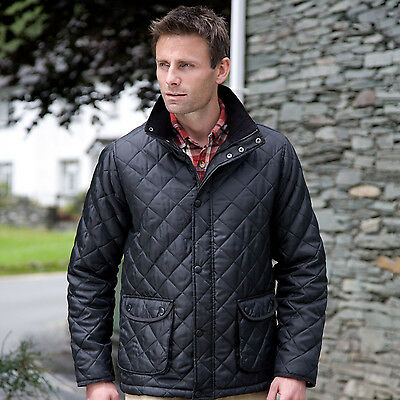 Mens Quilted Jacket Mens /& Womens Quilted Jacket Urban Cheltenham Jacket R195X