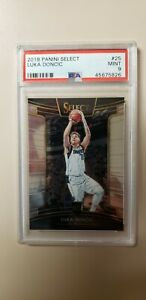🔥🏀2018-19 SELECT LUKA DONCIC ROOKIE CONCOURSE PSA 9 MINT ROOKIE CARD💎🔥
