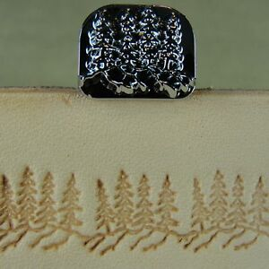 Leather-Stamping-Tool-F110-Pine-Trees-Stamp