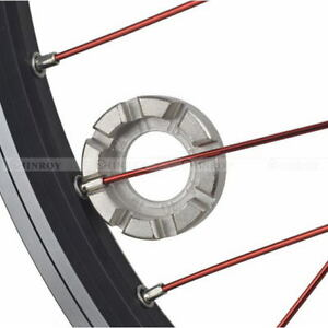 Bicycle Bike 8 Way Spoke Nipple Key Wheel Rim Wrench Repair New Tool F5X6 J0P6