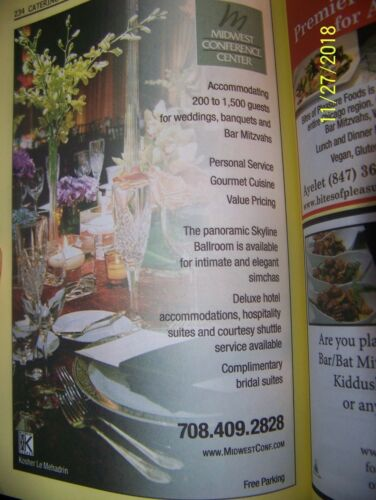Chicago  USA Phone Book Yellow Pages /& Jewish Business Acheinu Directory 17-18