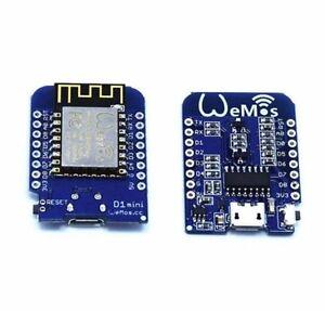 D1-Mini-NodeMcu-4M-bytes-Lua-WIFI-Development-Board-ESP8266-de-WeMos