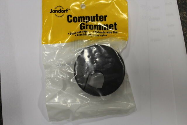 Jandorf Computer Grommet Gray Fits 1-3//4 In Cut Out