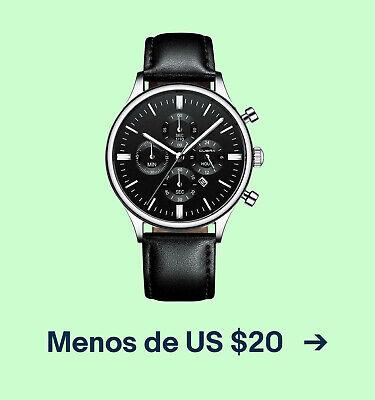 Menos de US $20