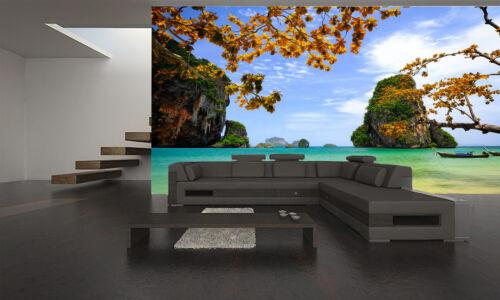 Beautiful Tropical Beach Wall Mural Photo Wallpaper GIANT DECOR Paper Poster