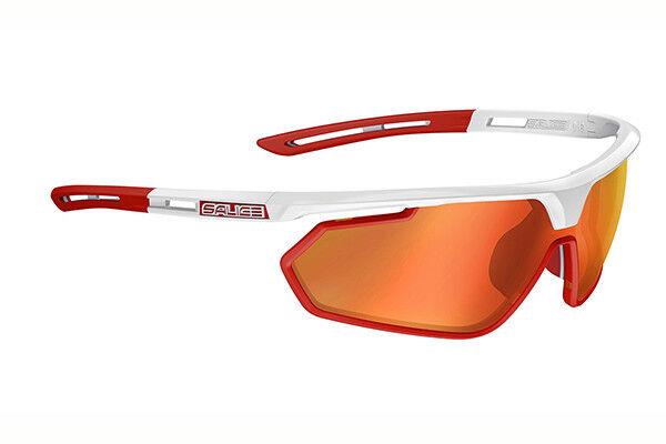 Occhiali 018RW SALICE 018 RW Bianco-Rosso Lenti Rosse/GLASSES SALICE 018RW Occhiali bianca -rosso 5f2f6c