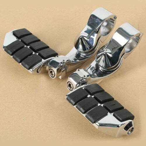 """1-1//4/"""" Engine Guard Highway Foot Pegs Rests Mount Clamps For Harley Davidson USA"""