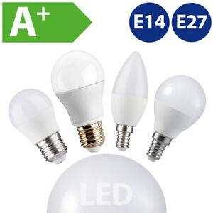 E27-E14-LED-Gluehbirne-Kugellampe-Kerze-Birne-Leuchtmittel-4W-6W-10W-12W-15W