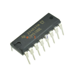 10PCS-CD4510-CD4510BE-CMOS-PRESETTABLE-UP-DOWN-COUNTERS-DIP16