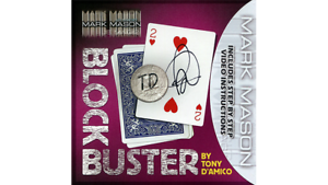by Tony D/'Amico and Mark M... BLOCK BUSTER Red Gimmick and Online Instructions