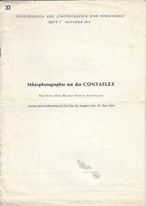 Zeiss-Ikon-Sonderdruck-Mikrophotographie-mit-der-Contaflex