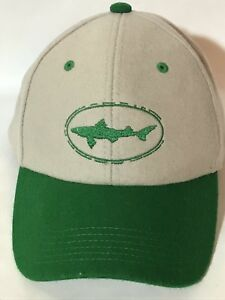 e4717047d3709 DOGFISH HEAD BREWING HAT GRAY GREEN WOOL BLEND SNAPBACK Craft Beer ...