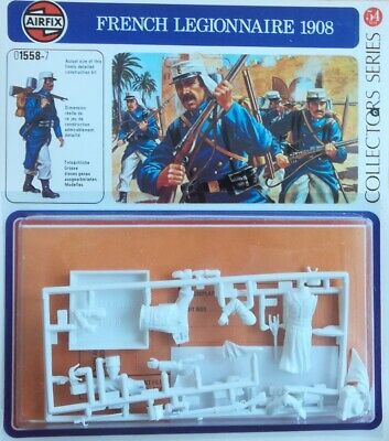 Apprensivo Airfix Models - 54 Mm - French Legionnaire 1908 In Corto Rifornimento
