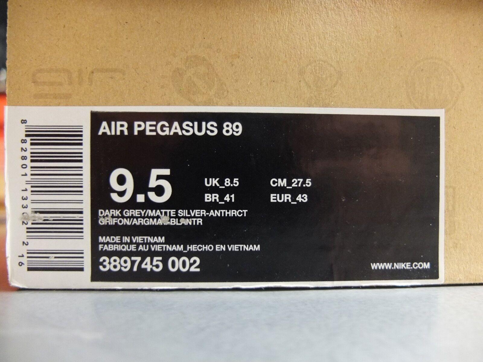 2009 Nike Air Pegasus 89 Berlin US9.5 DS Patta Patta Patta Kaws Atmos 8f5501