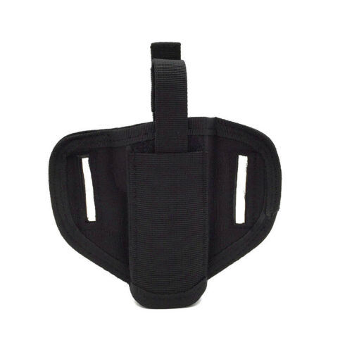 BLACK OWB Concealed Carry Compact Gun Paddle Belt Holster Glock Ruger XD