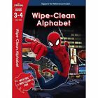 Spider-Man: Wipe-Clean Alphabet Ages 3-4 by Scholastic (Paperback, 2016)