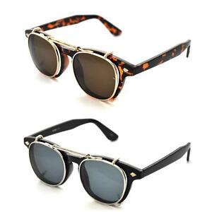 Style removable lens black wayfarer sunglasses retro glasses steampunk