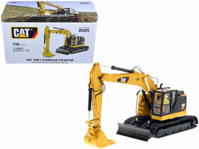 Caterpillar 1:50 335F L Hydraulic Excavator-High Line Series 85925 Car Toy Gift