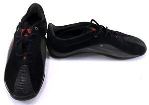 Image is loading Puma-Shoes-Kraftek-SF-Leather-Nubuck-Athletic-Black- a981cb1d0