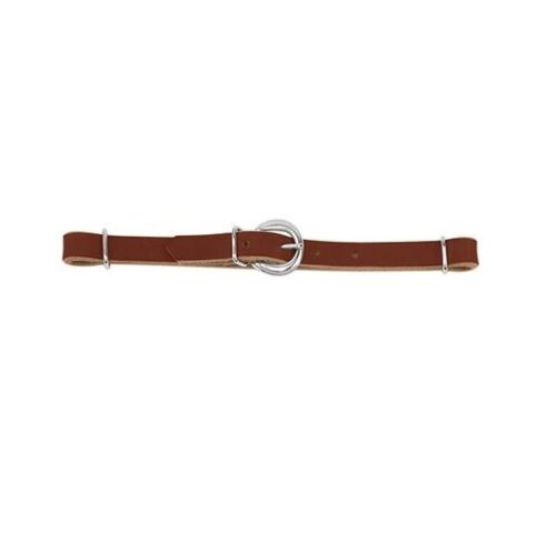 CURB STRAP WEAVER LEATHER SUNSET BIT WESTERN HORSE WORKING TACK