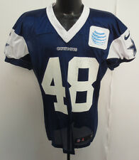 DALLAS COWBOYS NIKE NFL PRACTICE WORN JERSEY ISAIAH GREENHOUSE 13-48 BERLIN 48 N