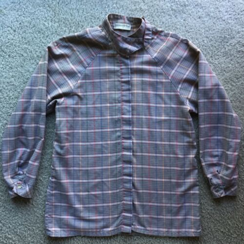 Vintage Hang Ten Womens Button Down Long Sleeve Shirt Made In USA Rare Sz Medium