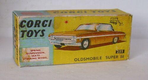 Repro Box Corgi Nr.235 Oldsmobile Super 88