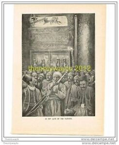 IN-THE-CAVE-OF-THE-NATIVITY-THE-QUIVER-c1899-Book-Illustration-Print