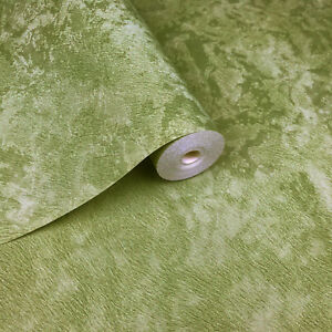 Details About Wallpaper Green Metallic Textured Plain Modern Faux Fur Look Wall Coverings Roll