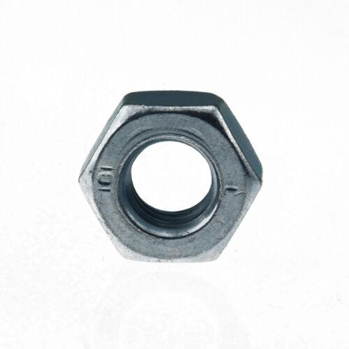 verzinkt Sechskantmuttern mit metrischem Feingewinde ISO 8673 Güte 8 Stahl galv