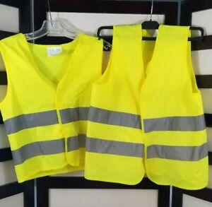 M yellow IKEA BESKYDDA Reflective vest yellow