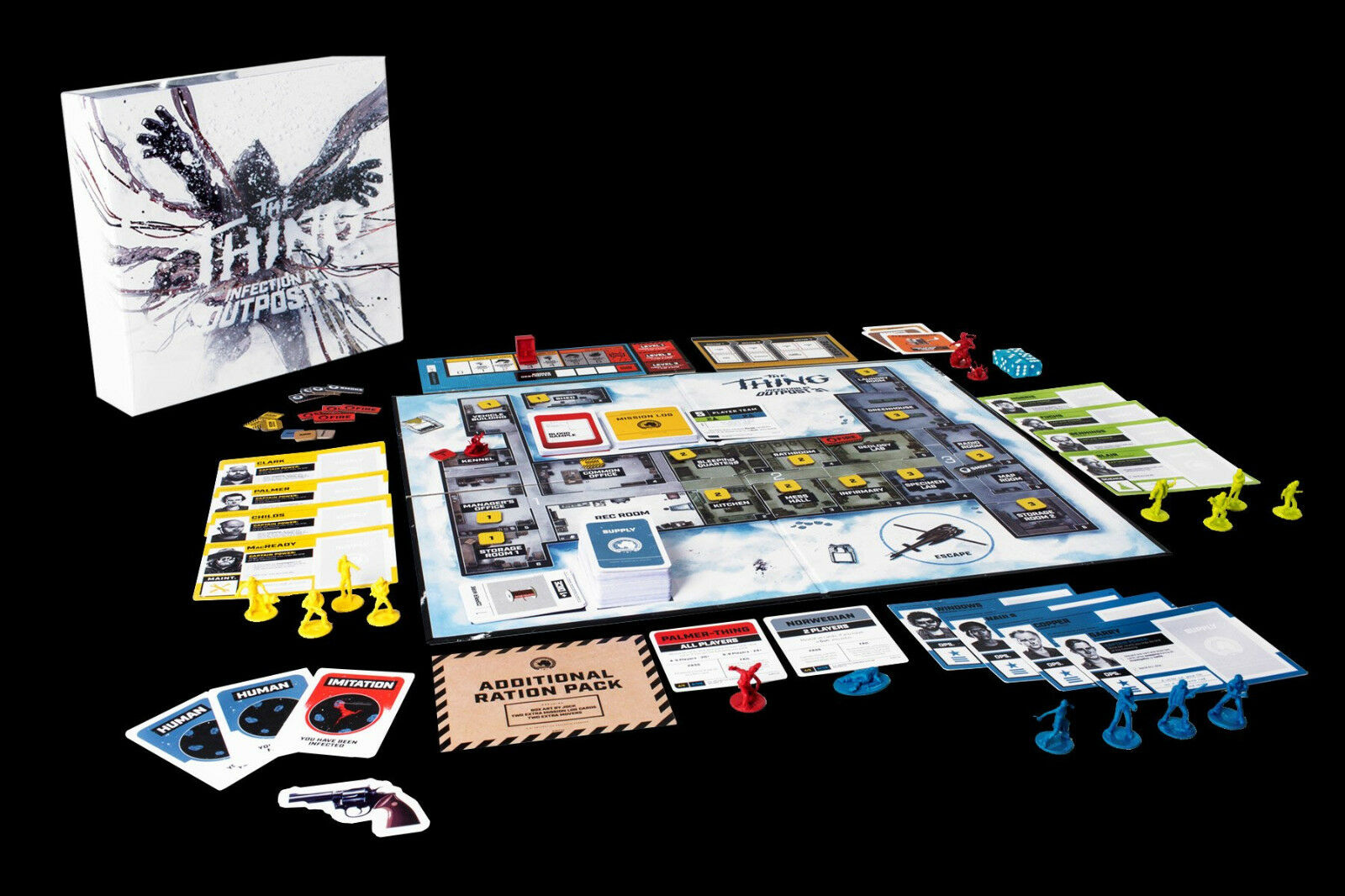 Thing Infection at Outpost 31 - Mondo Exclusive Edition Board spel