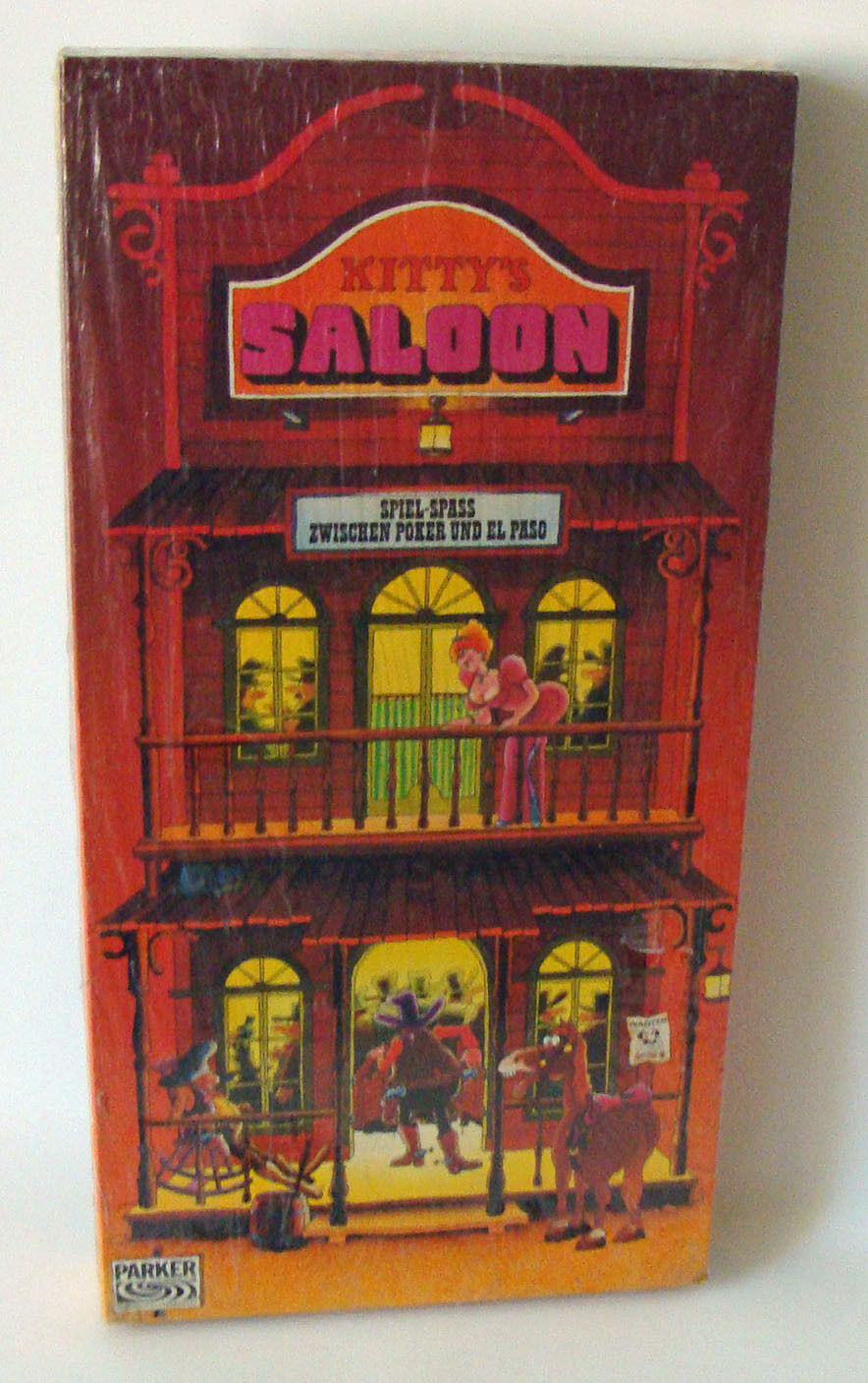 Parker 01062-Kitty's Saloon date 1978 Parker 8+ NEW NEW