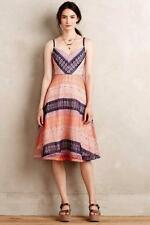 NWT $328.00 Anthropologie Summer Cottage Lace Dress By Maeve Sz. 8