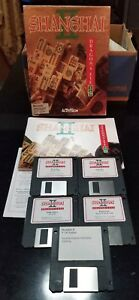 Vintage-Shanghai-II-Dragons-Eye-Software-by-Activision-on-800K-disks-for-Mac