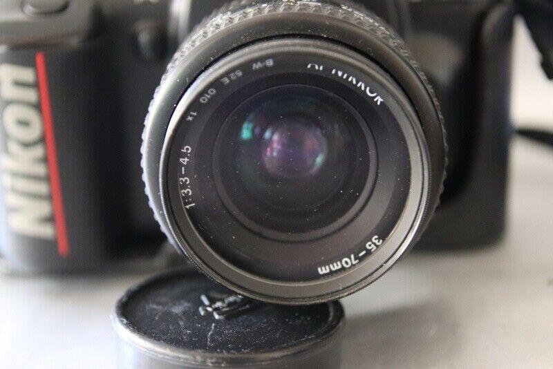 Nikon, F-401X, spejlrefleks