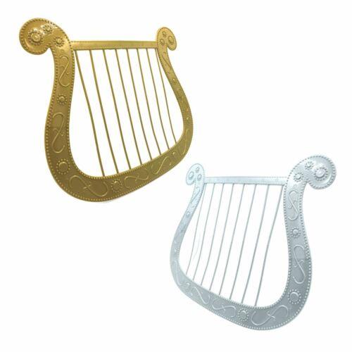 New Plastic Novelty Nativity Angel Harp Kids Girls Boys Gabriel School Christmas